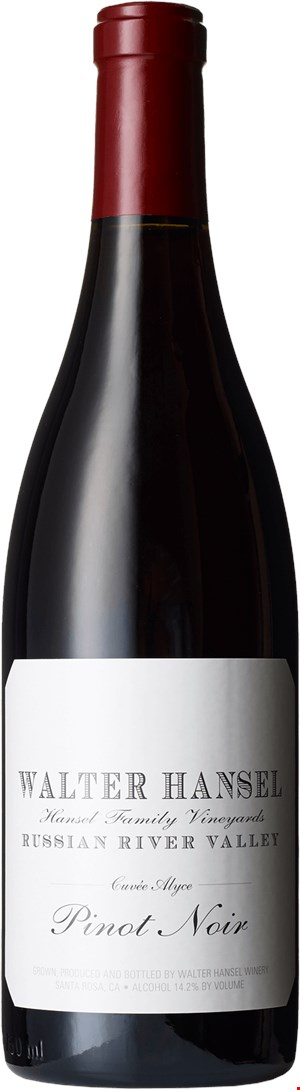 Walter Hansel Winery Cuvee Alyce Pinot Noir  2018