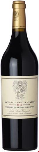 Kapcsándy Family Winery Grand Vin Cabernet Sauvignon 2016