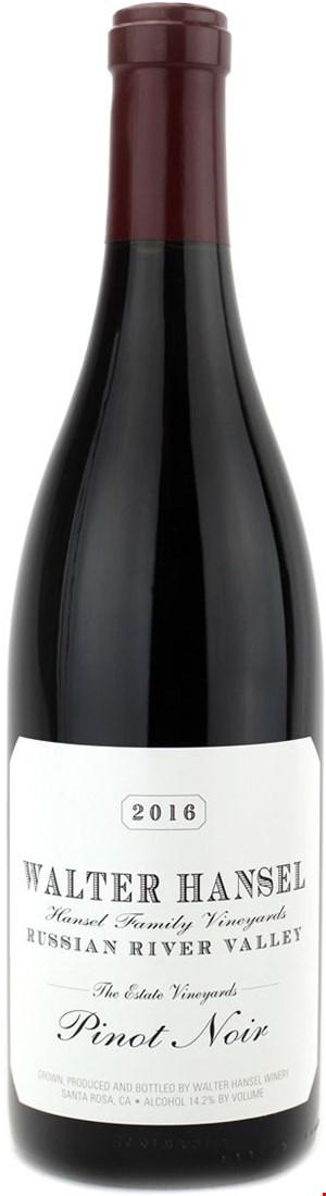 Walter Hansel Winery Estate Pinot Noir 2018