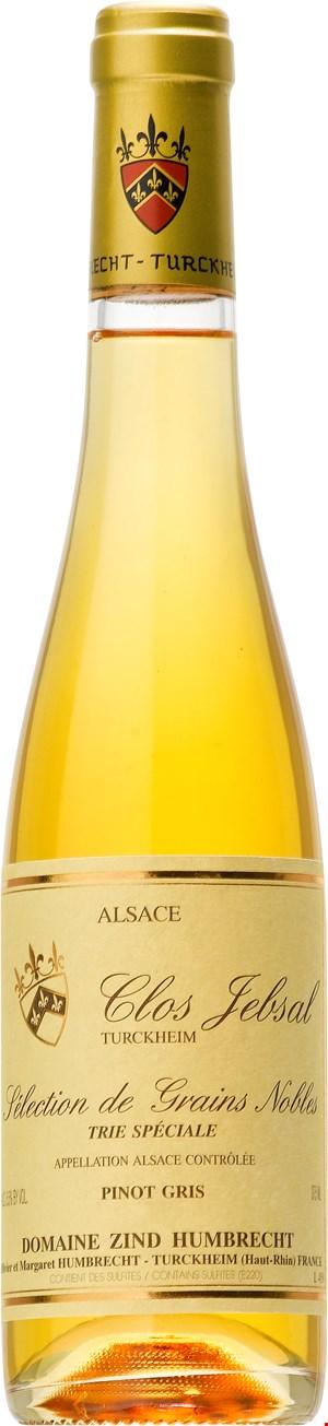 Domaine Zind-Humbrecht Pinot Gris Clos Jebsal Sélection de Grains Noble Trie Speciale (halvflaska) 2010