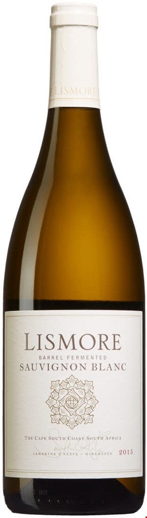 Lismore Estate Vineyards Barrel Fermented Sauvignon Blanc 2018